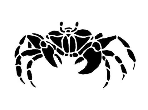 Kitchen Stencil Ideas - wall stencil lobster hermit crab crab reusable diy home decor