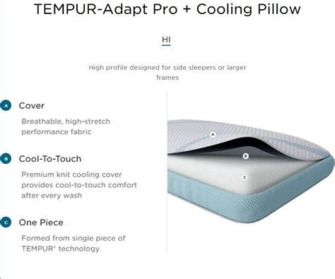 buy tempur pedic tempur adapt pro  cooling pillow