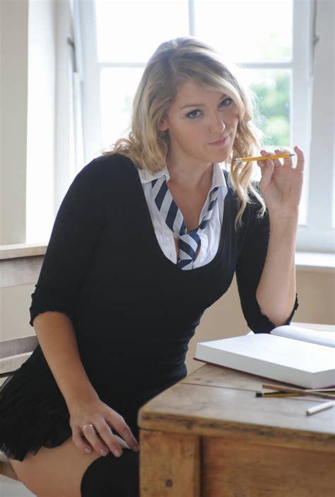 Hot Secretary Kate Stroud Of St Mackenzies Institute Of Learning