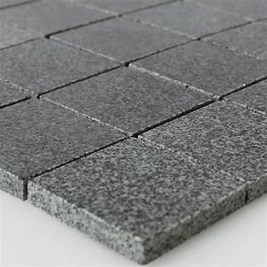 Mosaik Fliesen Außenbereich : granit mosaik fliesen anthrazit 48x48x8mm mt51288 ~ Yasmunasinghe.com Haus und Dekorationen