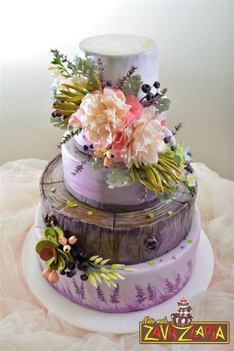15 Must See Lavender Wedding Cakes Pins Lavender Wedding