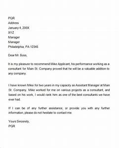 reference letter for employment samples