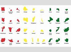 Geo Map Africa Cameroon
