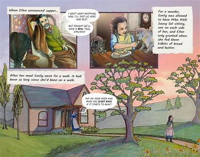 Moon Emily Story Based Novel Graphic Author