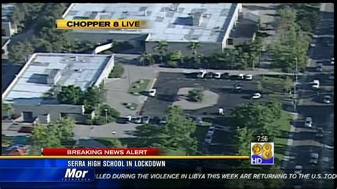 Serra High School lockdown lifted | cbs8.com