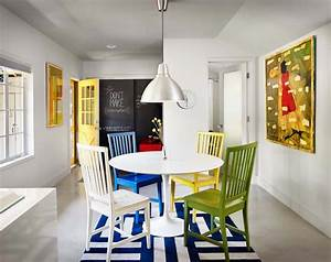 Petite Salle à Manger : les chaises d pareill es qui gayent l ambiance de la salle manger moderne design feria ~ Preciouscoupons.com Idées de Décoration