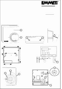 Emmeti Cs11 Thermostat Installation Manual Pdf View  Download