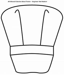 train conductor hat coloring page sketch coloring page With conductor hat template
