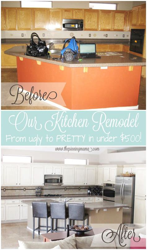 kitchen makeovers on a low budget kitchen remodel how to make a impact on a small 9496
