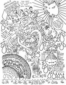 Heart   Circulatory System Coloring Page