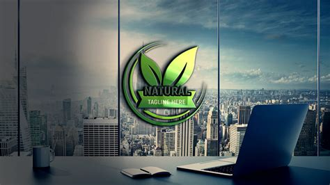 natural logo design  psd template graphicsfamily