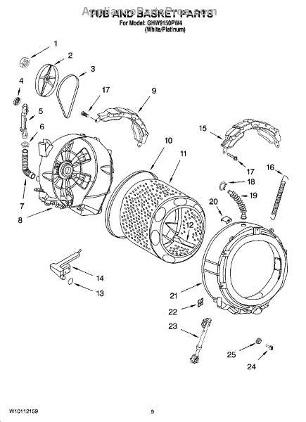 whirlpool w10822553 shock absr appliancepartspros