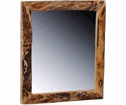 Mirror Log Aspen Framed Furniture Gnarly Mirrors