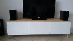 meuble tv avec besta ikea With meuble tv ikea