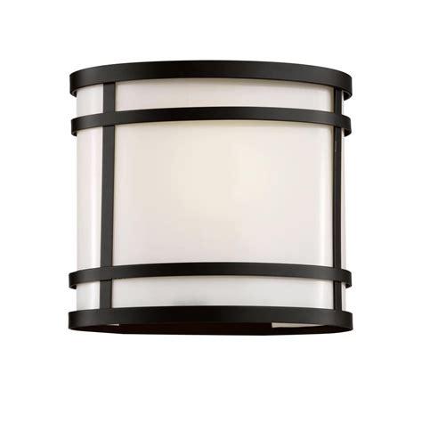 hton bay 1 light black outdoor wall lantern bpl1611 blk
