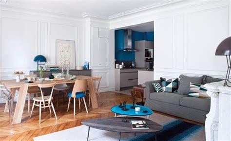 cuisine ouverte sur salle a manger et salon salon ouvert sur cuisine terrasse modernit et luminosit dans ce salon ouvert sur la cuisine