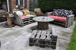 Salon De Jardin En Palette Tuto : tuto salon jardin palette avec meuble jardin palette bois ~ Dode.kayakingforconservation.com Idées de Décoration