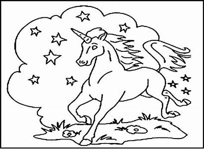 Coloring Printable Pages Children Unicorn Activity Bestcoloringpagesforkids