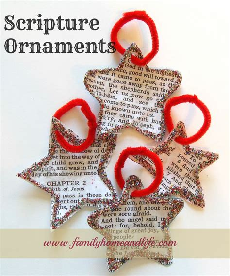 scripture ornaments use bible program like esword or