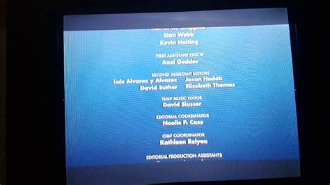 finding nemo 2003 end credits youtube
