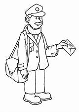Mailman Coloring Imagens Para Colorir Mail Postman Pages Carteiro Colouring Drawing Delivering Clipart Da Carteira Clip Fotos Professions Getdrawings Popular sketch template