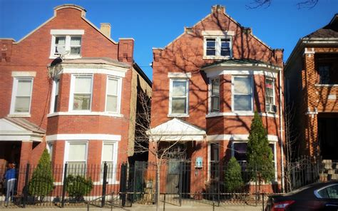 small brick house  chicago   bungalow