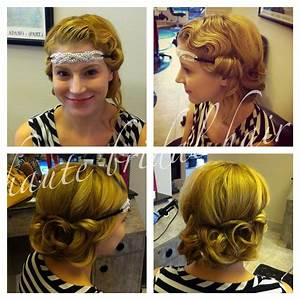 Updo, 1920's, retro, vintage, hair, styles, fingerwaves ...