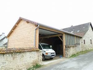 Garage Ossature Bois : garage pour camping car en ossature bois photo de maison ~ Melissatoandfro.com Idées de Décoration