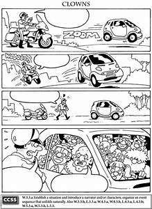 Unas viñetas de comic para completar en el idioma que ...