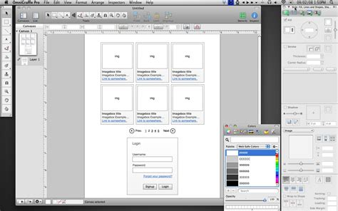 omnigraffle templates the interactive prototyping dilemma a review of software options sitepen
