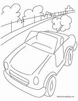 Highway Coloring Pages Mini Cars Bestcoloringpages Vehicles Template Sketch Gumby Kid sketch template