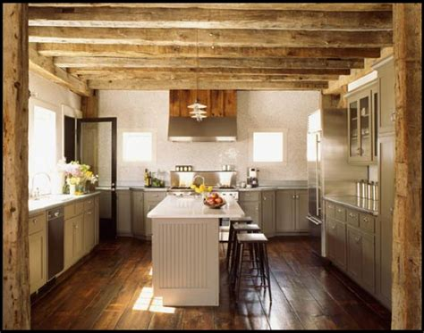 delicate farmhouse lighting for a rustic kitchen