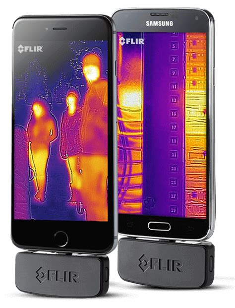 flir iphone flir one thermal imaging attachment for ios and android