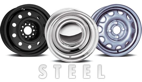 What's The Difference Between Aluminum And Steel Wheels