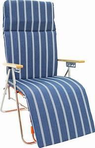 Fauteuil Relax De Jardin : fauteuil relax acier et bois lido ~ Teatrodelosmanantiales.com Idées de Décoration
