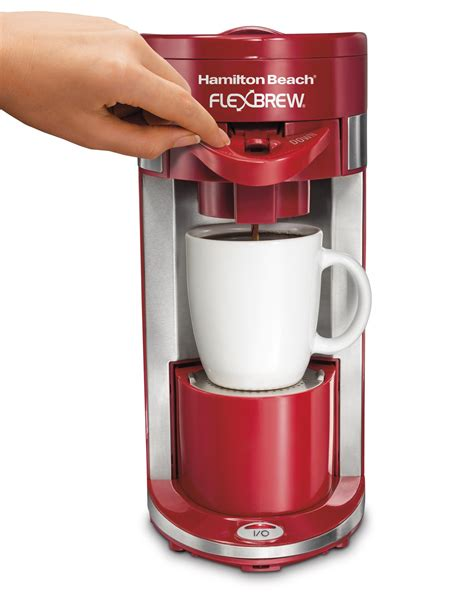 A few years ago hamilton beach introduced one of the most versatile auto drip coffee makers on i have two hamilton beach flex brews and never one work on the single serve side. Hamilton Beach FlexBrew Single Serve Coffeemakers | eBay
