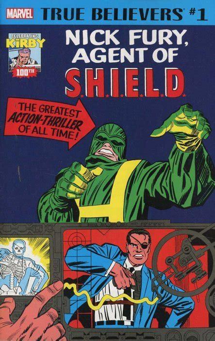True Believers: Jack Kirby 100th - Nick Fury 1 (Marvel ...