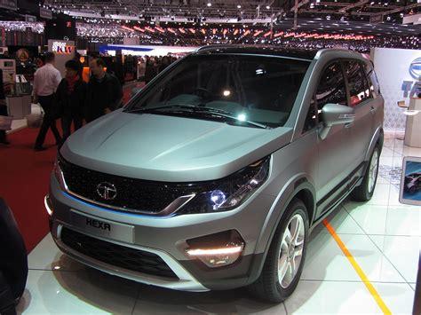 Tata Hexa Concept Ausgestellt Auf Dem Autosalon Genf 2018