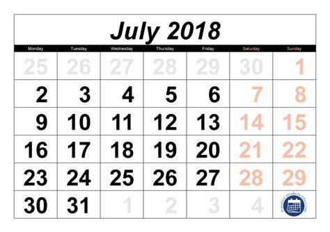printable july calendar printable calendar