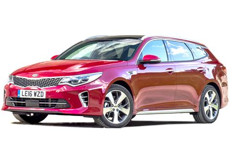KIA Car : Kia Optima Sportswagon Estate Interior, Dashboard & Satnav
