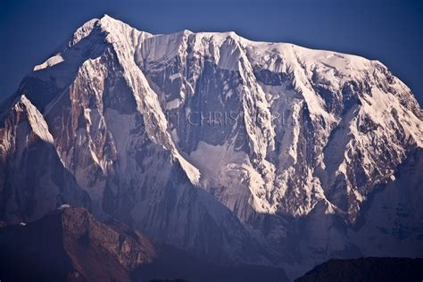 Sunrise On The South Face Of Annapurna Iii.