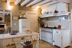 Cuisine Ancienne Campagne : inspiration d co cuisine ancienne campagne pour maison de mes parents ~ Nature-et-papiers.com Idées de Décoration