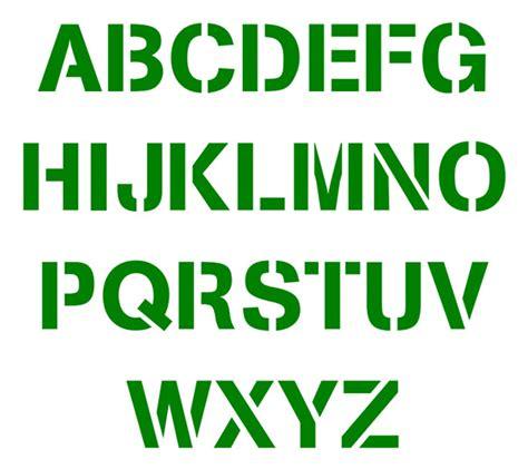 printable stencil letters alphabet stencils free premium templates 64471