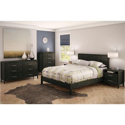 south shore gravity queen platform customizable bedroom