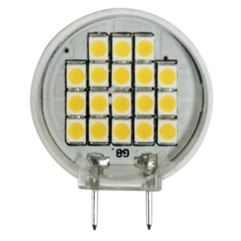 meridian 25w equivalent soft white 3000k g8 dimmable led