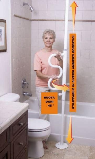 maniglie per vasca da bagno pole asta di supporto per wc o vasca da bagno con