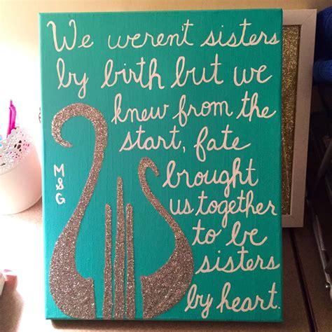 sister quotes canvas quotesgram