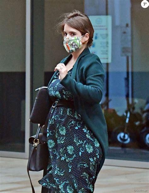 Exclusif - La Princesse Eugenie d'York, enceinte (en robe ...