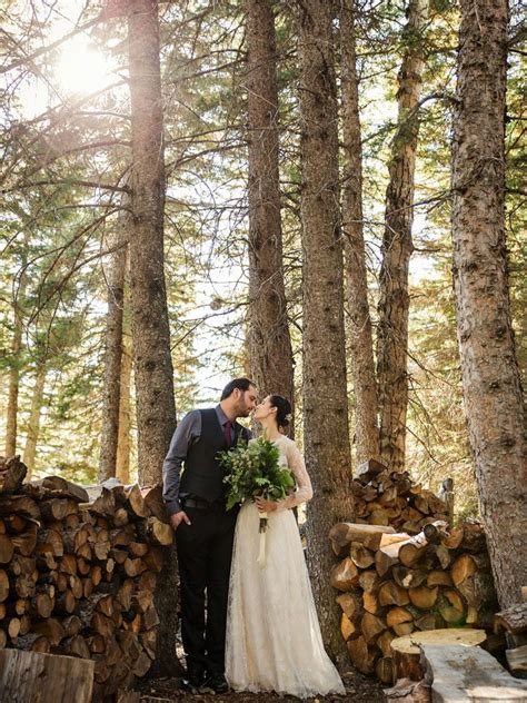 a rustic nature inspired wedding in alberta weddingbells