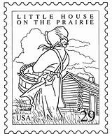 Prairie Coloring Pages Colouring Laura Wilder Ingalls Books Sheets Pioneer Visit Stitchery Adult sketch template